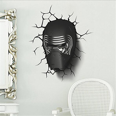 3D Samolepky na zeď 3D samolepky na zeď Ozdobné samolepky na zeď Materiál Home dekorace Lepicí obraz na stěnu