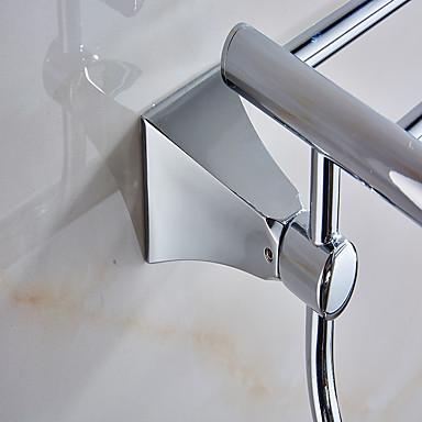 Prateleira de Banheiro Alta qualidade Modern Metal 1 Pça. - Banho do hotel Casal (L200 cm x C200 cm) Montagem de Parede