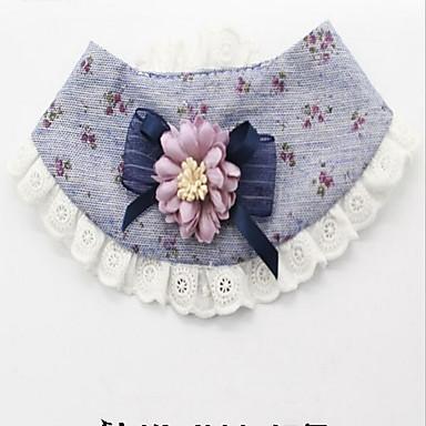 Hund Krawatte/Fliege Hundekleidung Lässig/Alltäglich Blumen/Pflanzen Gelb Blau Rosa