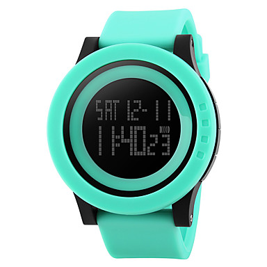 Inteligentní hodinky Voděodolné Multifunkční Sportovní Stopky Budík Hodinky s dvojitým časem Kalendář Chronograf Other Ne Slot pro kartu