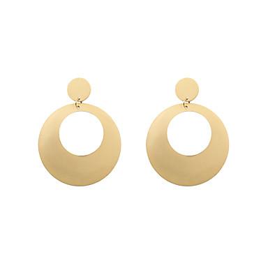 Dámské Visací náušnice Šperky Přizpůsobeno Kruhy Módní Euramerican Slitina Circle Shape Šperky Vánoční dárky Svatební Párty Zvláštní