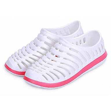Herren Schuhe PVC Frühling Komfort Loch Schuhe Sandalen Für Normal Weiß Grau Rosa