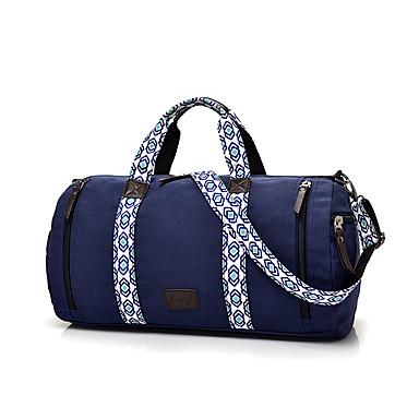 Unisex Taschen Leinwand Umhängetasche für Normal Sport Gewerbliche Verwendungen Ganzjährig Dunkelblau Khaki