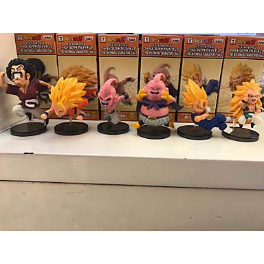 Figuras de Ação Anime Inspirado por Dragon ball Goku PVC 8cm CM modelo Brinquedos Boneca de Brinquedo Homens Mulheres