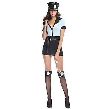 Cosplay Kostume Prinzessin Polizei Fest Feiertage Halloween Kostume