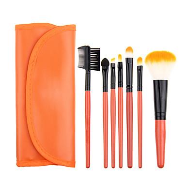 7ks Make-up štětce Profesionální Kartáčové soupravy / Štětec na tvářenku / Štětec na oční stíny Syntetické chlupy Klasické