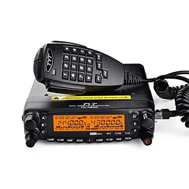 TYT TH-7800 Rádio de Comunicação Portátil Montável em Veículos Dual Band CTCSS/CDCSS TONE/DTMF (multifrequencia) LCD Radio FM > 10 km >