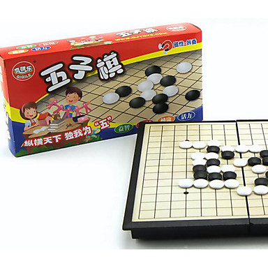 Jogos de Tabuleiro Jogo de Xadrez Gobang Magnética Plástico Peças Unisexo Dom