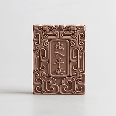 Ferramentas bakeware Silicone Aniversário / Ano Novo / Dia de Ação de Graças para Candy Mold DIY 1pç