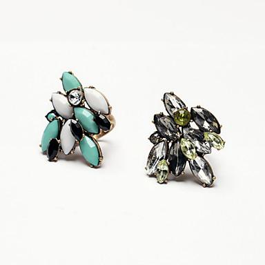 Dámské Prsten minimalistický styl Klasický Rozkošný Slitina Šperky Pro Svatební Párty Narozeniny