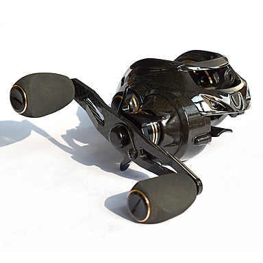Baitcasting Reel 7:2:1 Gear Ratio+18 Ball Bearings Right-handed Sea Fishing - CT