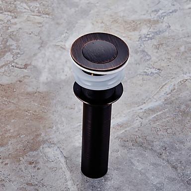 Acessório Faucet - Qualidade superior - Moderna Latão Pop-up Water Drain With Overflow - Terminar - Bronze Escovado a Óleo