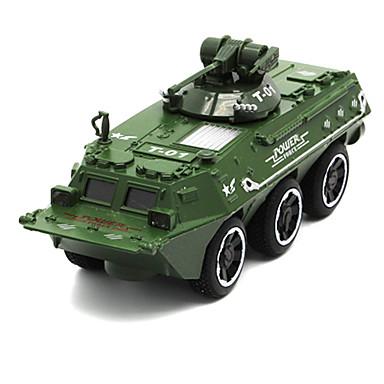 Veículo Militar / Tanque Caminhões & Veículos de Construção Civil / Carros de Brinquedo 01:32 Simulação Unisexo Crianças Brinquedos Dom