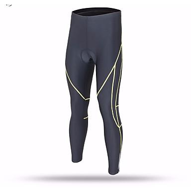 Herrn Trainingsleggings Enge Laufhosen Weich einfarbig Atmungsaktivität Unten Übung & Fitness Laufen Drinnen Schwarz M L XL XXL XXXL