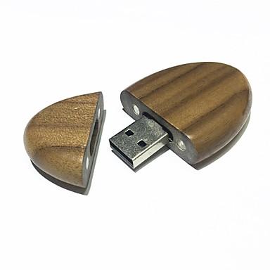 8GB unidade flash usb disco usb USB 2.0 De madeira WW1-8