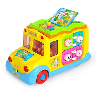 HUILE TOYS Brinquedo Educativo Ônibus Crianças
