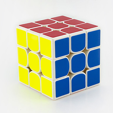Rubikin kuutio MoYu 3*3*3none Tasainen nopeus Cube Rubikin kuutio Opetuslelut Lievittää stressiä Puzzle Cube Sileä tarra Neliö Lahja