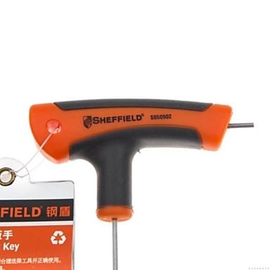 Stahl Schild metrische Typ t innere Sechs Winkelschlüssel 2mm / 1 Zweig