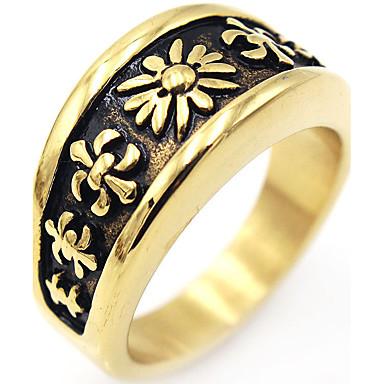 Pánské Dámské Prsten Vintage Euramerican Elegantní Nerez Šperky Vánoční dárky Narozeniny Gratulace Promoce Dar