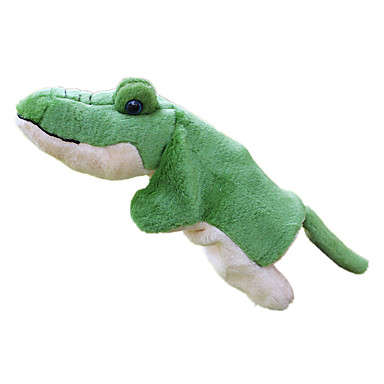 Fantoches Fantoche Brinquedos Crocodilo Fofinho Adorável Tecido Felpudo Felpudo Crianças Peças
