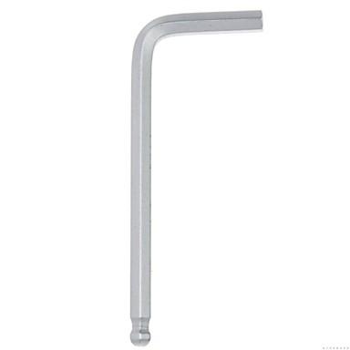 Stahl Kugelkopf Schild metrischen Standard sechs Winkel Schraubenschlüssel 6mm / 1