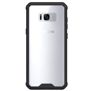 Capinha Para Samsung Galaxy S8 Plus / S8 Antichoque / Transparente Capa traseira Sólido Rígida Acrílico para S8 Plus / S8 / S7 edge