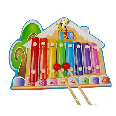 Xylophone Bausteine Musikspielzeug Spielzeuge Haus Spaß Holz Kinder Stücke