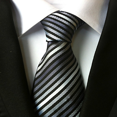 Men's All Neckwear Stripes Necktie - Striped