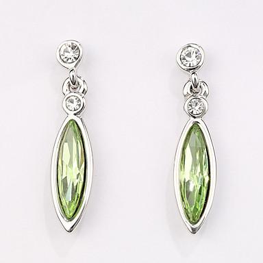 Náušnice Set Šperky Módní Přizpůsobeno Euramerican Křišťál Slitina Šperky Šperky Pro Svatební Párty 1 pár