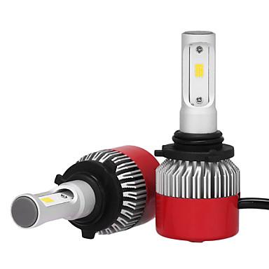 9006 Carro Lâmpadas 36W W LED Integrado 3600lm lm LED Lâmpada de Farol