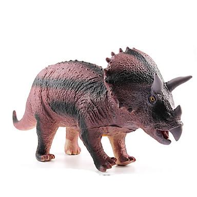 Draci a dinosaury Hračky Obrázky dinosaurů Jurský dinosauř Triceratops Tyrannosaurus rex Plastický Dětské Pieces