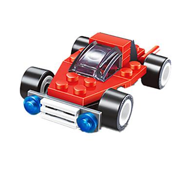 JIE STAR Carros de Brinquedo Blocos de Construir Quadrada Carro de Corrida Faça Você Mesmo Criativo Carro de Corrida Para Meninos Unisexo