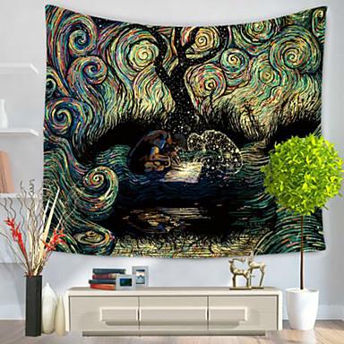 Abstrato Decoração de Parede 100% Poliéster Modern Arte de Parede, Tapetes de parede Decoração