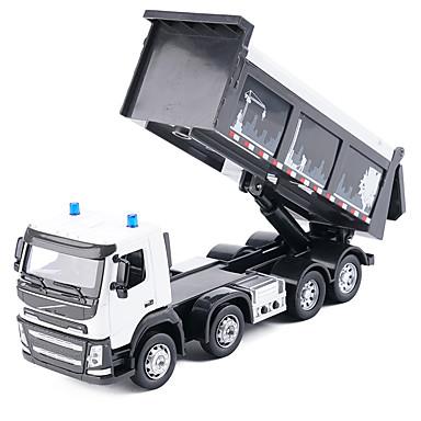 Caminhão Caminhão basculante Caminhões & Veículos de Construção Civil Carros de Brinquedo Música e luz Crianças Unisexo Para Meninos Para Meninas Brinquedos Dom