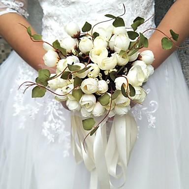 زهور الزفاف باقات / أخرى / أزهار اصطناعية زفاف / حفل / مساء مادة / دانتيل 0-20cm