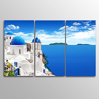 Leinwanddruck Landschaft Realismus,Drei Paneele Leinwand Horizontal Druck Wand Dekoration For Haus Dekoration