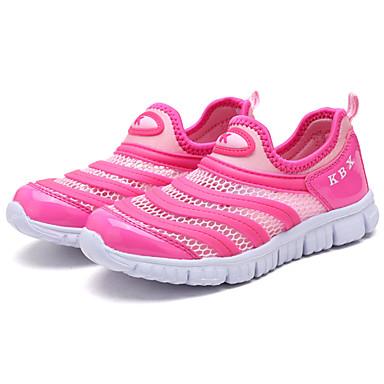 Tyttöjen kengät Tyll Kevät Syksy Comfort Urheilukengät Jouksu Split Joint varten Kausaliteetti Tumman sininen Pinkki Laivastosininen