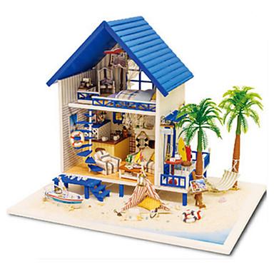 CUTE HOUSE Modele Hračky Udělej si sám Dřevo Klasické Pieces Unisex Dárek