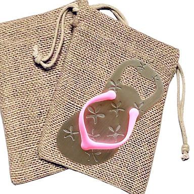 abridor de garrafas flip flop em saco de serapilheira favores de casamento beter gifts® party supplies