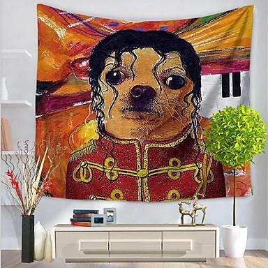 Menschen / Abstrakt Wand-Dekor 100% Polyester Abstrakt / Mit Mustern Wandkunst, Wandteppiche Dekoration