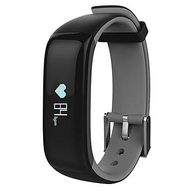 Smart-Armband Touchscreen Herzschlagmonitor Wasserdicht Verbrannte Kalorien Schrittzähler Distanz Messung Nachrichtensteuerung