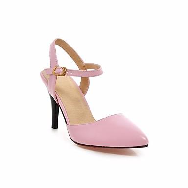 Naiset Kengät PU Kesä Sandaalit Käyttötarkoitus Musta Beesi Pinkki