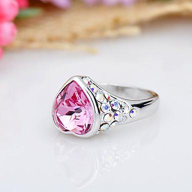 Dámské Prsten Šperky Módní Euramerican Křišťál Slitina Šperky Šperky Pro Narozeniny Večírek Ostatní