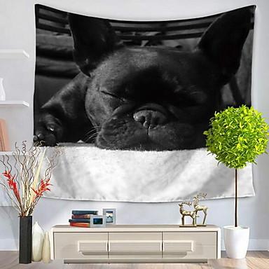 Zvíře Wall Decor 100% polyester Na běžné nošení Wall Art, Nástěnné tapiserie Dekorace