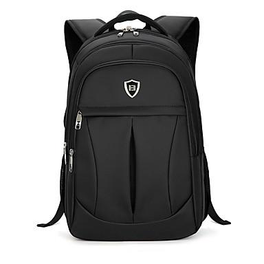 Homens Bolsas Tecido Oxford mochila para Formal / Ao ar livre / Viajar Preto
