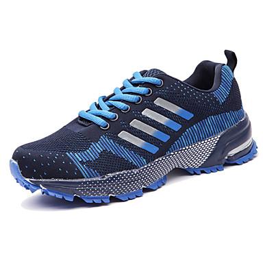 Homens sapatos Couro Ecológico Primavera Verão Conforto Tênis Caminhada para Casual Preto Roxo Vermelho Verde Azul