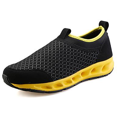 Miesten kengät Tyll Kesä Comfort Mokkasiinit varten Urheilullinen Harmaa Musta/punainen Musta/Sininen Musta/keltainen
