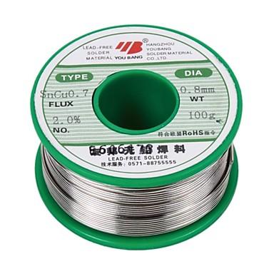 Aia olovnatý pájený drát sncu0.7 plech 0,8 mm - 100 g / objem
