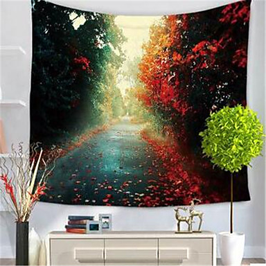 Floral Theme Wall Decor Polyester/Polyamide Classical Wall Art, Wall Tapestries Decoration