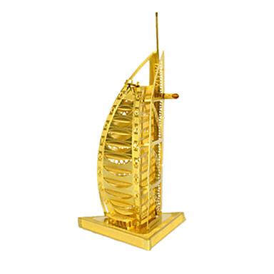 3D puzzle Hračky Slavné stavby Burj Al Arab Nerezová ocel Unisex Pieces